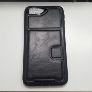"""Case card holder for iphone 7/8 plus 5.5"""" black"""